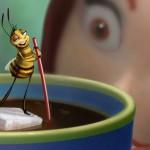 Cu albinele, la o cafea